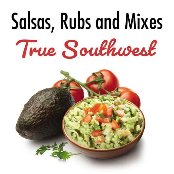 Salsas, Rubs and Mixes