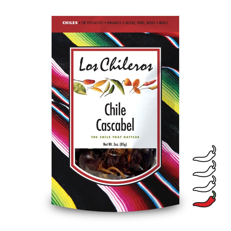 Los Chileros Chile Cascabel Whole