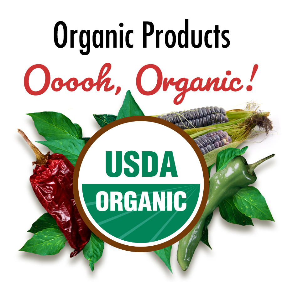 Certified Organic Products from Los Chileros